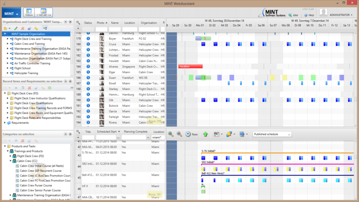 <strong>Screenshot of FlexGanttFX</strong><br /><br />