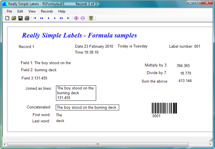 Template Designer : The Template Designer allows wide range of scale setting, snap grids and multiple element selection.