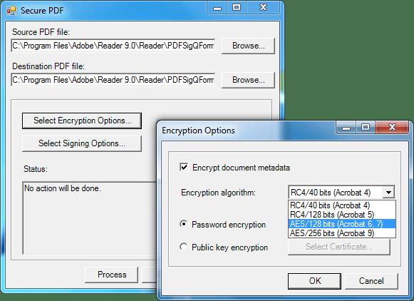<strong>Screenshot of SecureBlackbox .NET Data Security - Vendor</strong><br /><br />