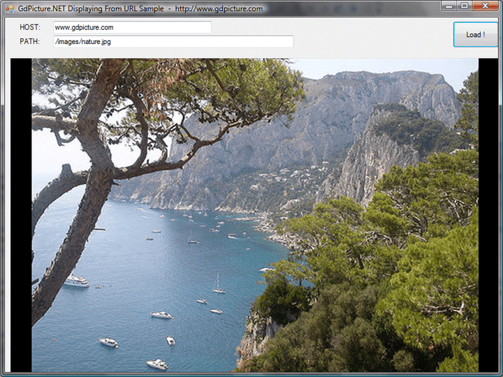 <strong>Load / Save images on FTP & HTTP servers</strong>: GdPicture.NET loads and saves images & PDF files on FTP and HTTP servers. GdPicture.NET can also load and save images in more than 45 formats from 1-bit to 128-bit including High Dynamic Range images, JPEG2000, JBIG, PSD, JPEG, TIFF, PNG, etc..<br /><br />