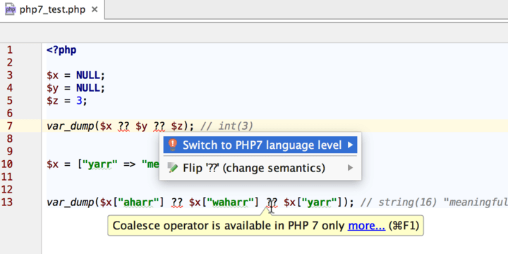 <strong>PhpStorm</strong><br /><br />
