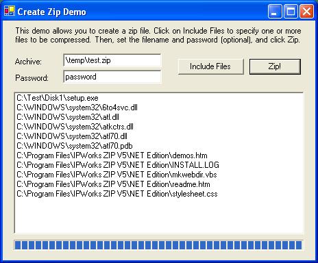<strong>Zip </strong>: Zip <br /><br />