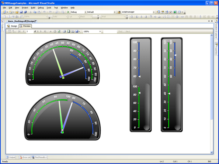 <strong>Examples of Gauges</strong><br /><br />