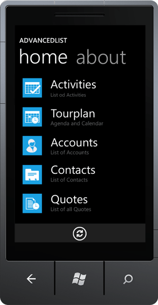 <strong>Windows Phone 7 Apps</strong>: The Windows Phone 7 app was built with help of Resco MobileLight Toolkit, a set of Silverlight controls for Windows Phone 7.<br /><br />
