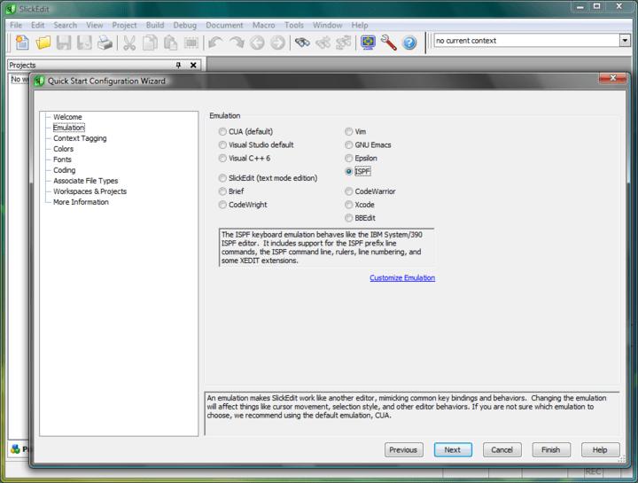 <strong>Screenshot of SlickEdit Multi-Platform</strong><br /><br />
