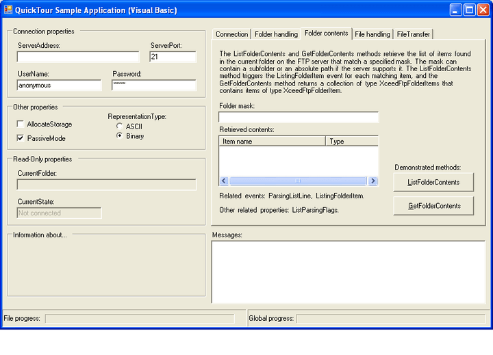 FTP Components: Xceed Ultimate Suite includes FTP and Secure FTP file transfer components for your .NET, ASP.NET, .NET CF and COM technologies applications.